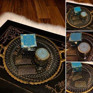🦋2/$10 3/$15 4/$18 5/$20 Vintage Vanity Set